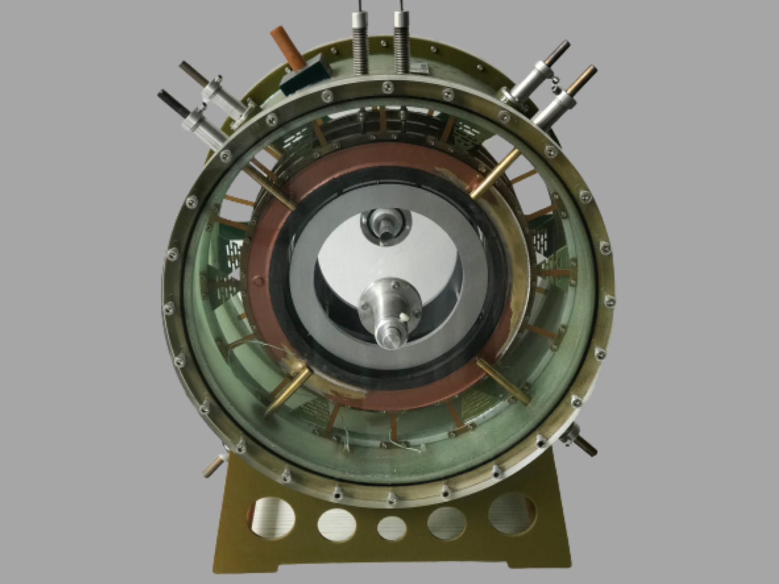 200 mm axial HTS bearing, 1000 kg