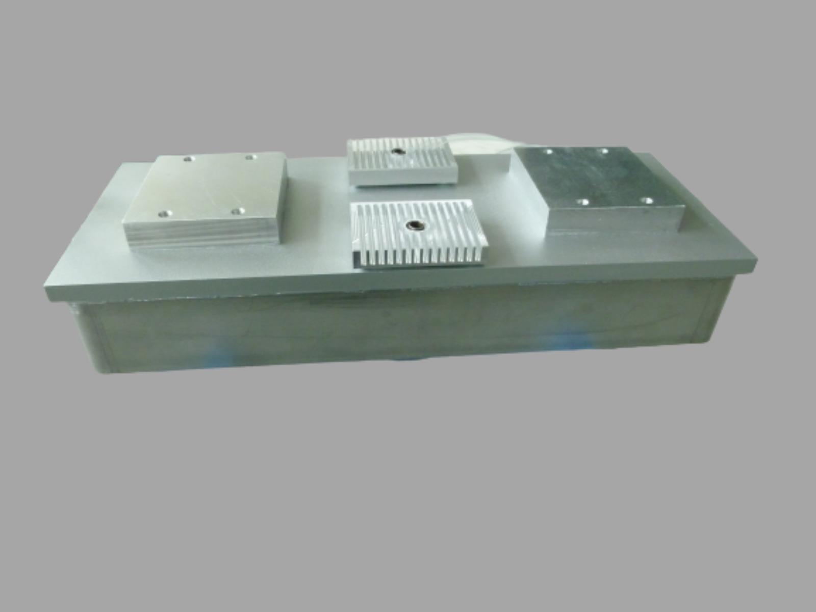 Flat cryostat
